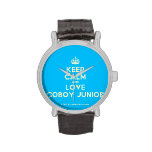 [Crown] keep calm and love coboy junior  Watches