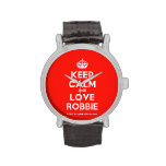 [Crown] keep calm and love robbie  Watches
