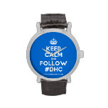 [Crown] keep calm and follow #dhc  Watches