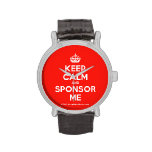 [Crown] keep calm and sponsor me  Watches