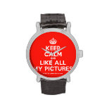 [Crown] keep calm and like all my pictures  Watches