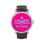 [Crown] eat clean train mean and get lean  Watches