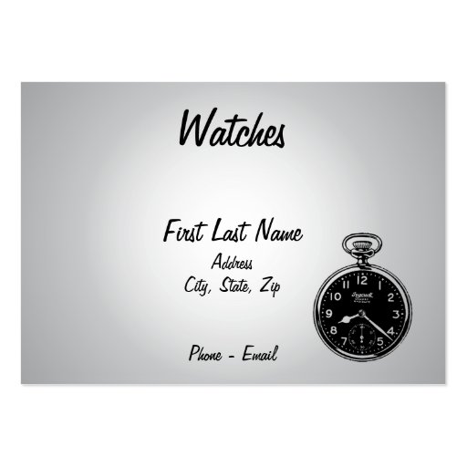 Watches Business Card