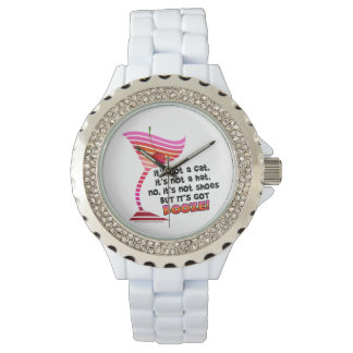WATCHES - BUT IT'S GOT BOOZE!