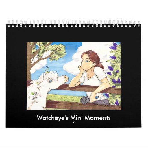Watcheye's Mini Moments Calendar