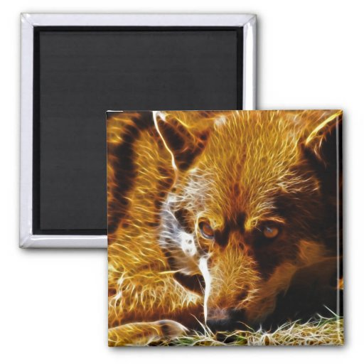 Watchful 2 Inch Square Magnet