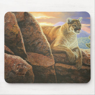 """""""Watchful"""" Cougar - Mouse Pad"""