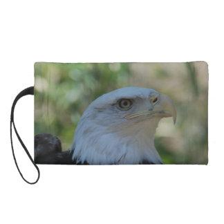 Watchful Eagle Wristlet Clutch