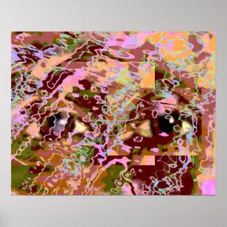 Watchful Eyes Print