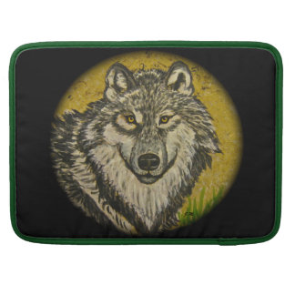 "Watchful Eyes Wolf Macbook Pro 15"" Sleeve For MacBook Pro"