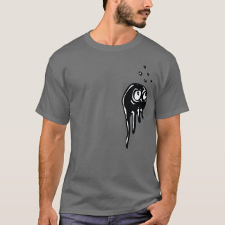 Watchful Jellyfish Blob Creature T-Shirt