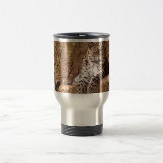 Watchful Leopard Travel Mug