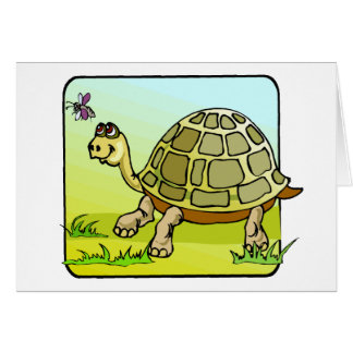 Watchful Turtle Card