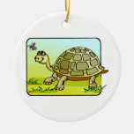 Watchful Turtle Christmas Ornament