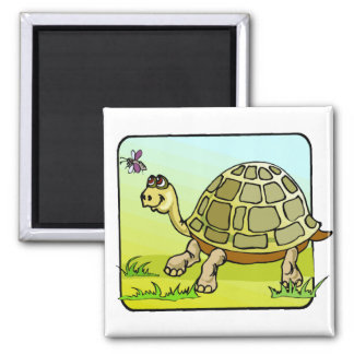Watchful Turtle Magnet