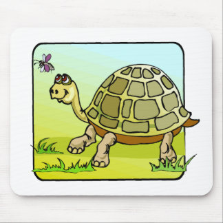 Watchful Turtle Mouse Pad