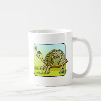 Watchful Turtle Classic White Coffee Mug