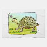 Watchful Turtle Towels