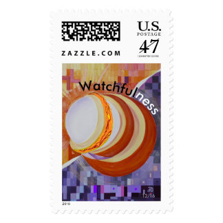Watchfulness from Poster Collection Lg. Stamp