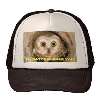 watchin owl trucker hat