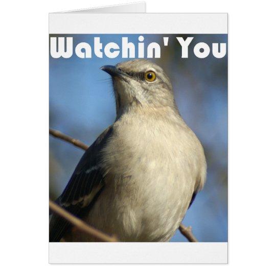Watchin' You Card