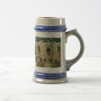 Watching a heritage structure beer stein