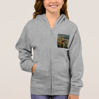 Watching a heritage structure hoodie