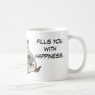 Watching a Pug be a Pug Fills You With Happiness. Coffee Mug