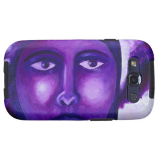 Watching, Abstract Purple Goddess Compassion Samsung Galaxy S3 Cover