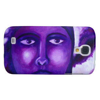 Watching, Abstract Purple Goddess Compassion Samsung Galaxy S4 Case