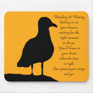 Watching and Waiting_ Mousepad_by Elenne Boothe Mouse Pad