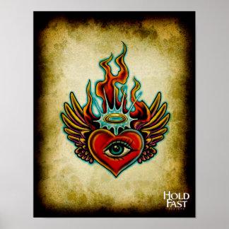 Watching Angel Eye Poster