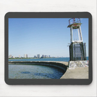 Watching Chicago Skyline From the Pier Mouse Pad
