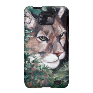 Watching Cougar Samsung Galaxy Case Galaxy S2 Case
