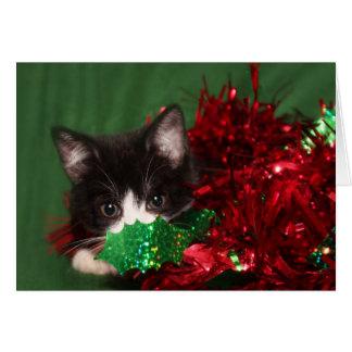Watching for Santa Card