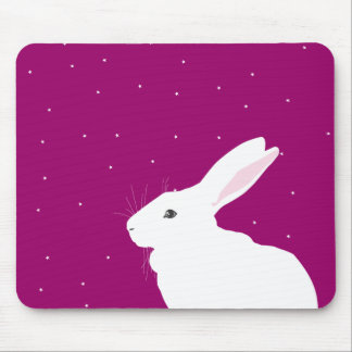 WATCHING HEAVEN MOUSE PAD