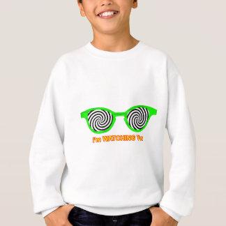 Watching Hypnotize Sunglasses Green Rim The MUSEUM Sweatshirt