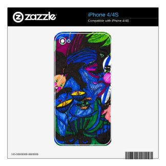 """""""Watching"""" iPhone 4/4S Skin Skin For The iPhone 4"""