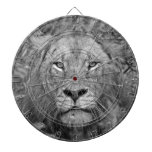 Watching Lion, South Africa Dartboard