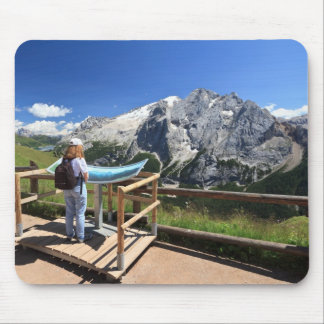 watching Marmolada mount Mouse Pad