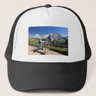 watching Marmolada mount Trucker Hat
