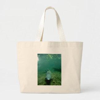 Watching Monster Jumbo Tote Bag