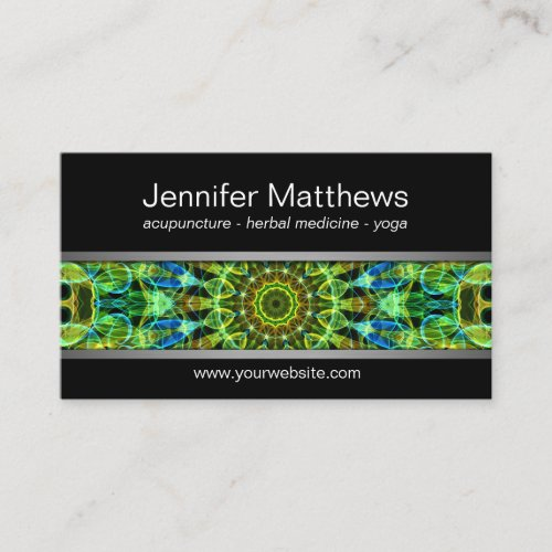 Watching Over You mandala Business Card