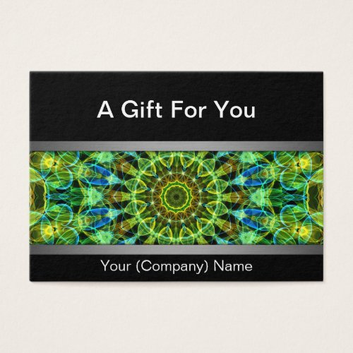 Watching Over You mandala gift certificate