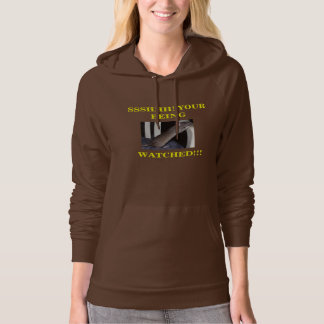 WATCHING RAT WOMENS HOODIE