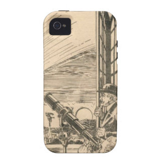 Watching the Comet iPhone 4 Cover