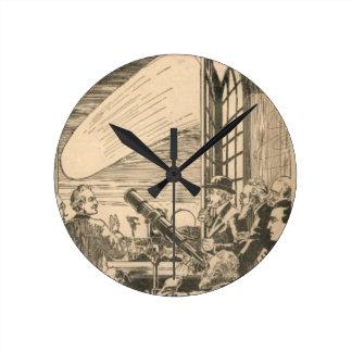 Watching the Comet Clocks