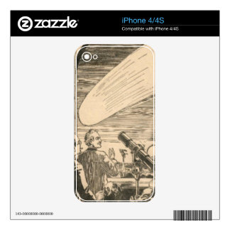 Watching the Comet Decal For iPhone 4S