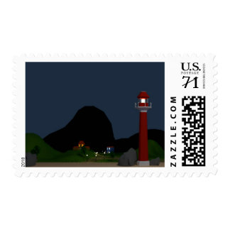 watching the light house postage