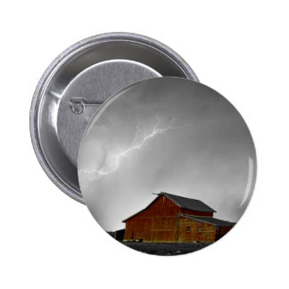 Watching The Storm From The Farm BWSC Pin